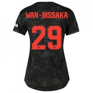 Manchester United Cup Third Shirt 2019 - 20 - Womens with Wan-Bissaka 29 printing