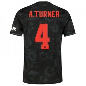 Manchester United Cup Third Shirt 2019 - 20 with A.Turner 4 printing
