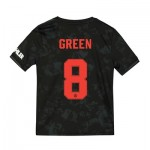 Manchester United Cup Third Shirt 2019 - 20 - Kids with Green 8 printing