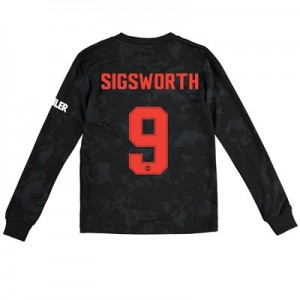 Manchester United Cup Third Shirt 2019 - 20 - Kids - Long Sleeve with Sigsworth 9 printing