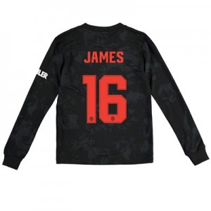 Manchester United Cup Third Shirt 2019 - 20 - Kids - Long Sleeve with James 16 printing