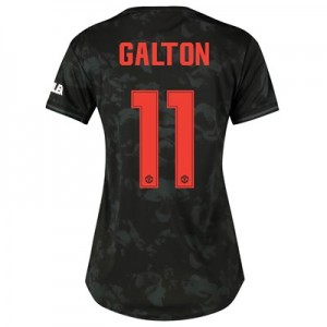 Manchester United Cup Third Shirt 2019 - 20 - Womens with Galton 11 printing