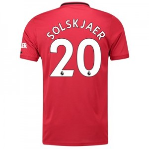 Manchester United Home Shirt 2019 - 20 with Solskjaer 20 printing