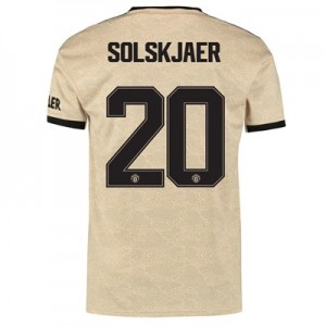 Manchester United Cup Away Shirt 2019 - 20 with Solskjaer 20 printing
