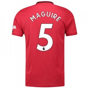 Manchester United Home Shirt 2019 - 20 with Maguire 5 printing