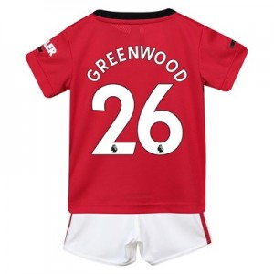 Manchester United Home Baby Kit 2019 - 20 with Greenwood 26 printing