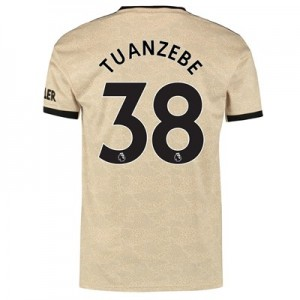 Manchester United Away Shirt 2019 - 20 with Tuanzebe 38 printing