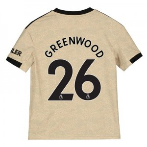 Manchester United Away Shirt 2019 - 20 - Kids with Greenwood 26 printing