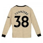 Manchester United Away Shirt 2019 - 20 - Kids - Long Sleeve with Tuanzebe 38 printing