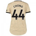 Manchester United Away Shirt 2019 - 20 - Womens with Chong 44 printing