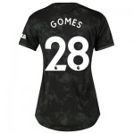 Manchester United Third Shirt 2019 - 20 - Womens with Gomes 28 printing