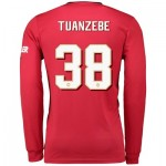 Manchester United Cup Home Shirt 2019 - 20 - Long Sleeve with Tuanzebe 38 printing