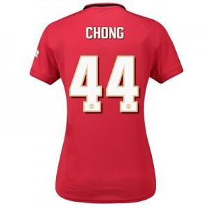 Manchester United Cup Home Shirt 2019 - 20 - Womens with Chong 44 printing