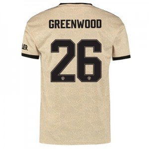 Manchester United Cup Away Shirt 2019 - 20 with Greenwood 26 printing