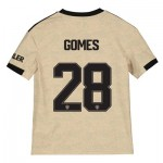 Manchester United Cup Away Shirt 2019 - 20 - Kids with Gomes 28 printing