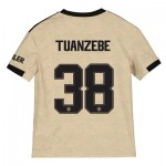 Manchester United Cup Away Shirt 2019 - 20 - Kids with Tuanzebe 38 printing
