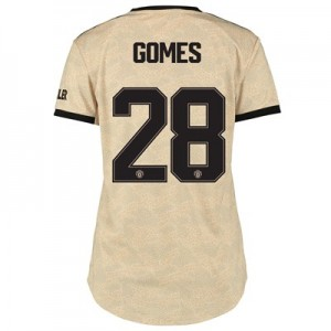 Manchester United Cup Away Shirt 2019 - 20 - Womens with Gomes 28 printing