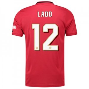 Manchester United Cup Home Shirt 2019 - 20 with Ladd 12 printing