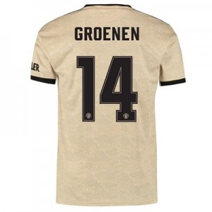 Manchester United Cup Away Shirt 2019 - 20 with Groenen 14 printing