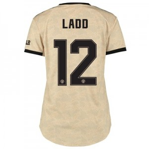 Manchester United Cup Away Shirt 2019 - 20 - Womens with Ladd 12 printing