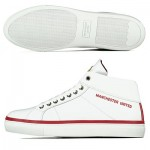 Manchester United Trinity Lifestyle Trainers - White - Womens