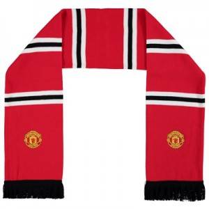 Manchester United Bar Scarf - Red - Adult