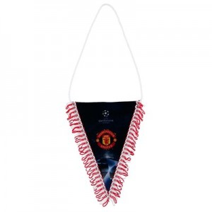 Manchester United UEFA Champions League Pennant