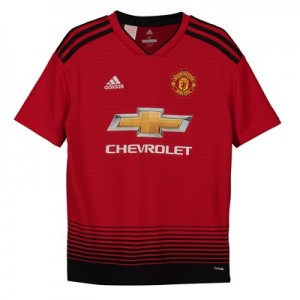 Manchester United Home Shirt 2018-19 - Kids