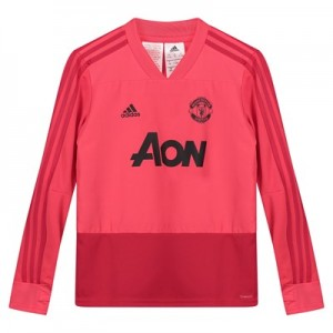 Manchester United Training Top - Pink - Kids