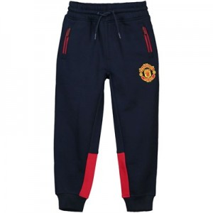 Manchester United Core Relaxed Fit Joggers - Navy - Junior