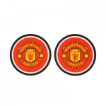 Manchester United Rubber Coasters - Pack of Two
