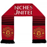 Manchester United Reversible Club Scarf - Red - Adult