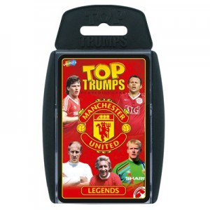 Manchester United Exclusive Top Trumps Legends