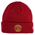 Manchester United New Era Cuff Knit Hat - Red - Infant