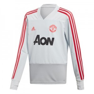 Manchester United Training Top - Kids - Grey