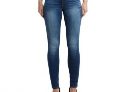 Manchester United True Religion Halle Super Skinny Fit Jean - True Blue - Womens