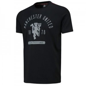 Manchester United Greatest T-Shirt - Black - Mens