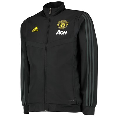 Manchester United Presentation Jacket - Black