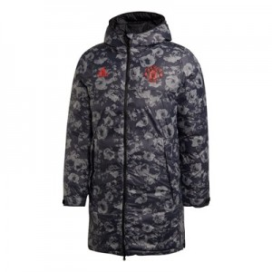 Manchester United Seasonal Long Coat - Black