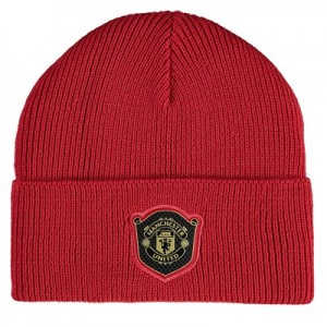 Manchester United Beanie - Red
