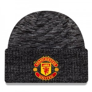 Manchester United New Era Oversized Pattern Cuff Knit - Black - Adult