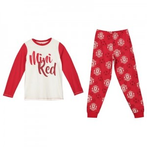 Manchester United Mini Red Pyjama Set - Red - Boys
