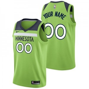 Nike Minnesota Timberwolves Nike Statement Swingman Jersey - Custom - Mens Minnesota Timberwolves Nike Statement Swingman Jersey - Custom - Mens