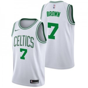 Nike Boston Celtics Nike Association Swingman Jersey - Jaylen Brown - Mens Boston Celtics Nike Association Swingman Jersey - Jaylen Brown - Mens