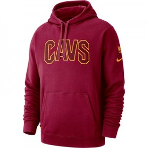 Cleveland Cavaliers Nike Courtside Hoodie - Team Red - Mens