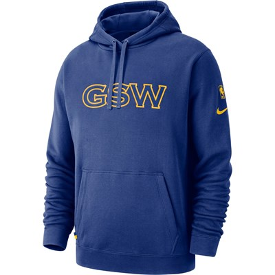 Golden State Warriors Nike City Edition Courtside Hoodie - Mens
