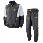 Golden State Warriors Nike Courtside Tracksuit - Rush Blue - Mens