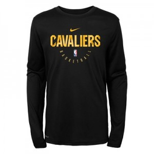 Cleveland Cavaliers Nike Elite Practise Long Sleeve Top - Youth