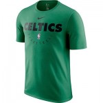Boston Celtics Nike Elite Practise Short Sleeve Top - Youth