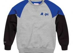 Orlando Magic Trading Block Crew By Mitchell & Ness - Mens